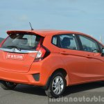 2015 Honda Jazz Diesel VX MT rear quarter Review
