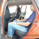 2015 Honda Jazz Diesel VX MT rear seat space Review