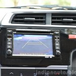 2015 Honda Jazz Diesel VX MT reverse camera Review