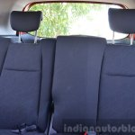 2015 Honda Jazz Diesel VX MT seat back Review