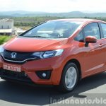 2015 Honda Jazz Diesel VX MT tracking shot Review