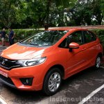 2015 Honda Jazz Orange front quarter India