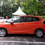 2015 Honda Jazz Orange side India