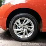 2015 Honda Jazz Orange wheel India
