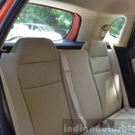 2015 Honda Jazz Petrol V CVT rear seats Review