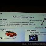 2015 Honda Jazz Technical Highlights steering