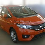 2015 Honda Jazz front three quarter spied ahead of launch