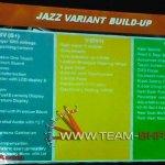2015 Honda Jazz variant wise features VX
