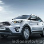 2015 Hyundai Creta front quarter unveiled press image