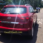 2015 Hyundai Creta rear quarter spotted undisguised outside plant