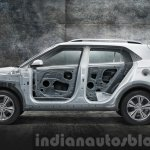 2015 Hyundai Creta side body structure unveiled press image