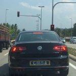 2015 VW Passat rear Malaysia spied
