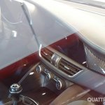 2016 Alfa Romeo Giulia gearbox interior snapped