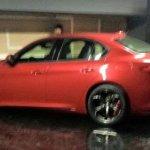 2016 Alfa Romeo Guilia side spyshot leak