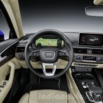 2016 Audi A4 dashboard press shots
