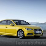 2016 Audi A4 front quarter press shots