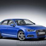 2016 Audi A4 front quarters press shots