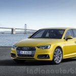 2016 Audi A4 front three quarter press shots