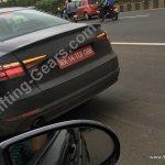 2016 Audi A4 prototype photographed testing in Mumbai