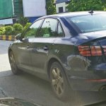2016 Audi A4 rear quarter India spied