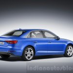 2016 Audi A4 rear quarters press shots