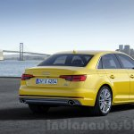 2016 Audi A4 rear three quarter press shots
