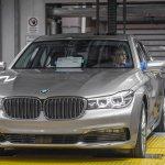 2016 BMW 7 Series front quarter unveiled in Munich