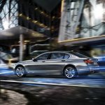 2016 BMW 7 Series rear quarter unveiled in Munich