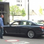 2016 BMW 7 Series side spotted for first time post unveil