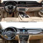 2016 BMW 7 Series vs 2014 BMW 7 Series interior Old vs New