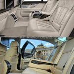 2016 BMW 7 Series vs 2014 BMW 7 Series rear cabin Old vs New
