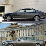2016 BMW 7 Series vs 2014 BMW 7 Series side Old vs New