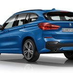 2016 BMW X1 M-Sport Package rear three quarter surfaces