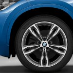 2016 BMW X1 M-Sport Package rims surfaces