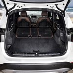 2016 BMW X1 boot seats folded