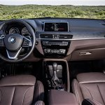 2016 BMW X1 dashboard