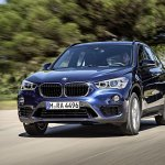 2016 BMW X1 front fascia