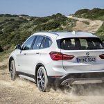 2016 BMW X1 rear quarter