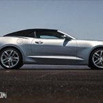 2016 Chevrolet Camaro convertible side leaked