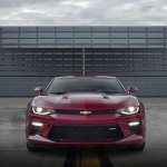 2016 Chevrolet Camaro front press shot