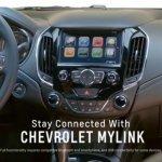 2016 Chevrolet Cruze interior revealed in Apple CarPlay video