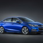 2016 Chevrolet Cruze side official image