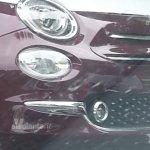 2016 Fiat 500 facelift front leaked