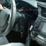 2016 Honda Civic dashboard spied