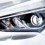 2016 Hyundai Santa Fe facelift headlight
