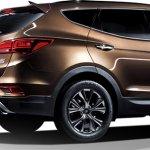 2016 Hyundai Santa Fe facelift rear