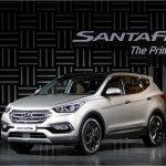 2016 Hyundai SantaFe Prime front three quarter unveiled in Korea