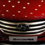 2016 Hyundai SantaFe Prime grille unveiled in Korea