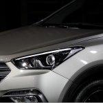 2016 Hyundai Santa Fe Prime headlamps unveiled in Korea