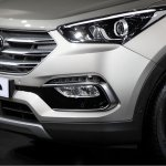 2016 Hyundai Santa Fe Prime lower fascia unveiled in Korea